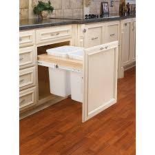 trash can cabinet lowes kitchen extraordinary lowes kitchen trash cans outdoor trash cans
