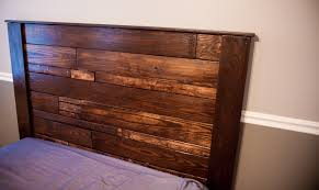 homey idea build queen headboard 16 pine for bed plans dimensions bookcase a size