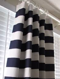 white curtain rings images Ideas tips horizontal striped curtains in black and white with jpg