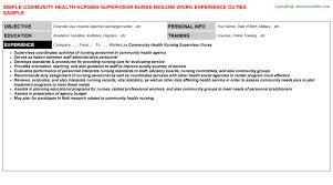 Manufacturing Supervisor Resume Registered Nurse Graduate Resume Situation Ethics Essay