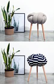 Knot Pillows by These Nautical Knot Stools Are Fun For Any Room Contemporist