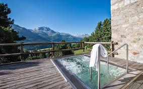 wellness hotel st moritz engadine switzerland