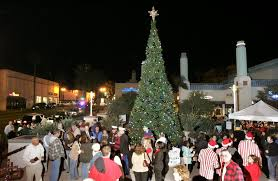 where can you see the christmas tree lights this year the san
