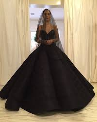 black wedding dress maja salvador stuns in a black wedding dress in quotwildflowerquot