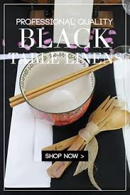 elegant table linens wholesale black napkins for weddings hotels catering events and restaurants