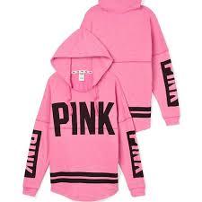 pink vs sweaters vs pink varsity hoodie on the hunt
