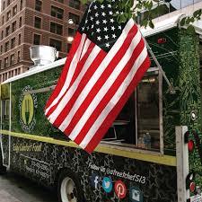 City Of Cincinnati Flag Street Chef Brigade Food Truck 50 Photos U0026 23 Reviews Food