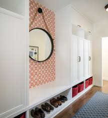 front entrance foyer entry transitional with shoe storage mud room