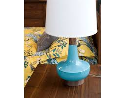 Turquoise Table Lamp Alberta Turquoise Table Lamp The Joinery Portland Oregon