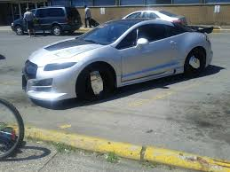 mitsubishi eclipse u0027s are ugly then i saw this today not too