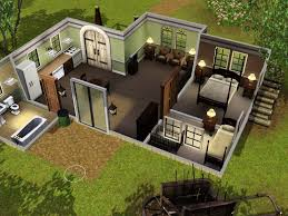 house layout for sims 3 modern hd