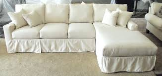 slipcover for sofa chaise with chaise cover cool slipcovers for sofa luxury