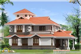 Design Houses Sloping Roof House Villa Design Kerala Home Design And Floor