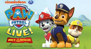 paw patrol live sevenvenues