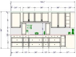 kitchen design measurements basic kitchen design measurements