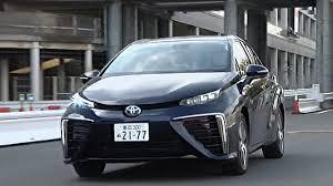 toyota go car toyota unveils mirai the first mass market zero emissions car
