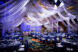 blue wedding reception decorations centerpieces decorating of party