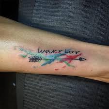 the 25 best watercolor arrow tattoo ideas on pinterest arrow