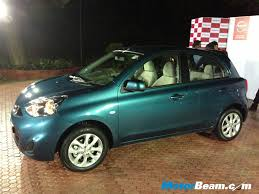 nissan micra 2013 2013 nissan micra facelift variants u0026 specifications motorbeam