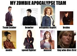 Zombie Team Meme - my doctor who zombie apocalypse team by phoenixtsukino on deviantart