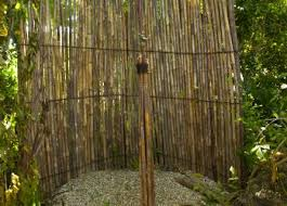 Outdoor Shower Mirror - inspiring bathroom outside outdoor shower plants along inside edge