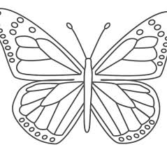coloring pages cartoon butterfly coloring pages property