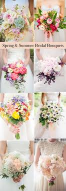 theme wedding bouquets 25 swoon worthy summer wedding bouquets tulle