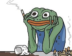 Depressed Frog Meme - feels time guys gt be me gt 17 at that time gt moved