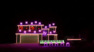 spooktacular u0027nightmare before christmas u0027 light show synced to the