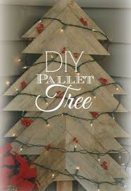 how to make a christmas tree from a pallet hometalk