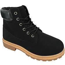 womens combat boots uk shoponline lace up womens combat grip sole flat army style
