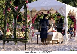 lowes wedding arches fiji islands vatuelele island sheryl and blair lowe s wedding at