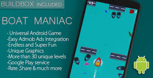 maniac app for android boat maniac android template featured buildbox