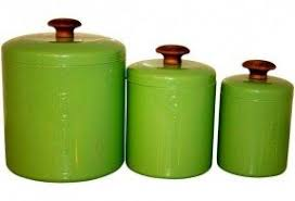green kitchen canister set ceramic canisters sets for the kitchen foter