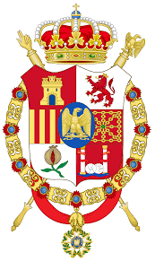 file middle coat of arms of joseph bonaparte as king of spain svg