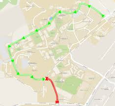 cal poly pomona cus map portion of drive to temporarily polycentric