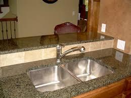 granite countertop sink options kitchen affordable granite kitchen countertop with breakfast bar