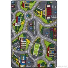 road rug town road area rugs you ll love wayfair city road rug