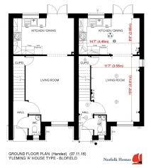 Chalet Bungalow Floor Plans Uk Home Styles Norfolk Homes