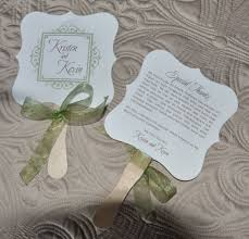 wedding fans favors wedding favor fan rylee wiregrass weddings