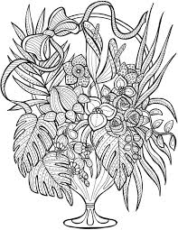 creepy coloring pages 2978 best coloring flowers images on pinterest coloring books