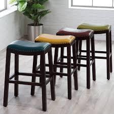 furniture industrial bar stool backless counter stool kitchen leather backless counter stools bar stools cheap backless counter stool