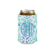 wrap around velcro koozie drink wrap embroidery blanks sea tile