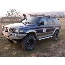 mitsubishi outlander sport off road zderzak przód z bullbarem mitsubishi pajero sport i akcesoria