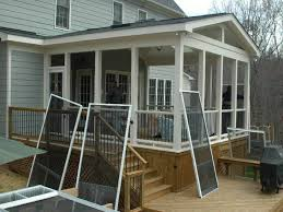 Diy Patio Kits by Enjoying The Scenery With Enclosed Porch Kits Karenefoley Porch
