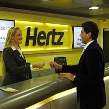 hertz check in desk
