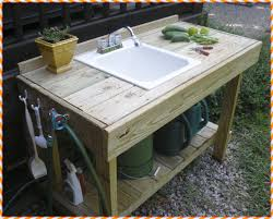 Stainless Steel Bench With Sink Ideas Potting Bench With Sink Stainless Steel Potting Bench