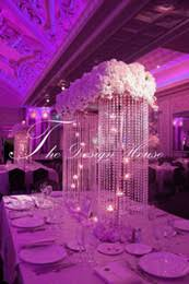 Wholesale Wedding Vases Tall Discount Tall Wedding Centerpiece Vases Wholesale 2017 Tall
