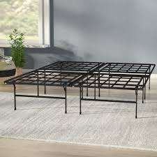 bed frame no box spring needed wayfair
