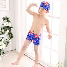 Flag Suit Baby Boys Uk Flag Swimsuit Children Kids Summer Clothes Set